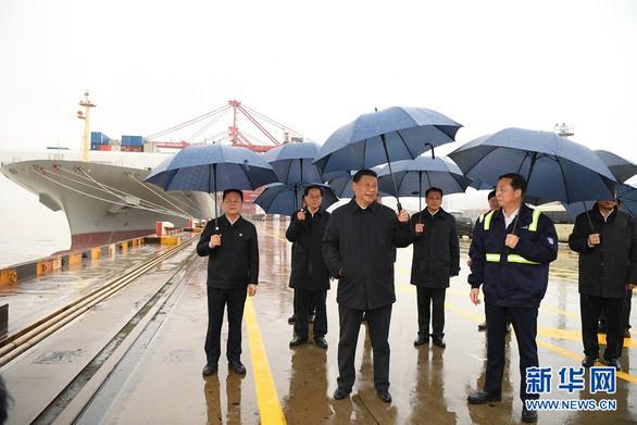 Chủ tịch Trung Quốc không đeo khẩu trang khi gặp dân tỉnh Chiết Giang, Trung Quốc gần hết dịch Covid-19?