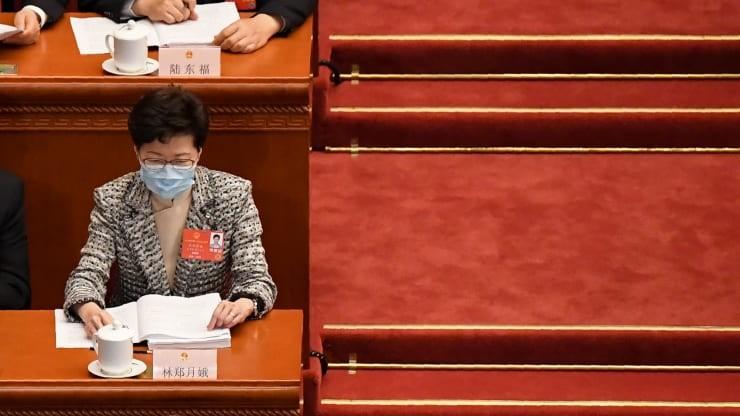 Mỹ dọa trừng phạt Trung Quốc nếu Bắc Kinh áp luật an ninh mới lên Hồng Kông
