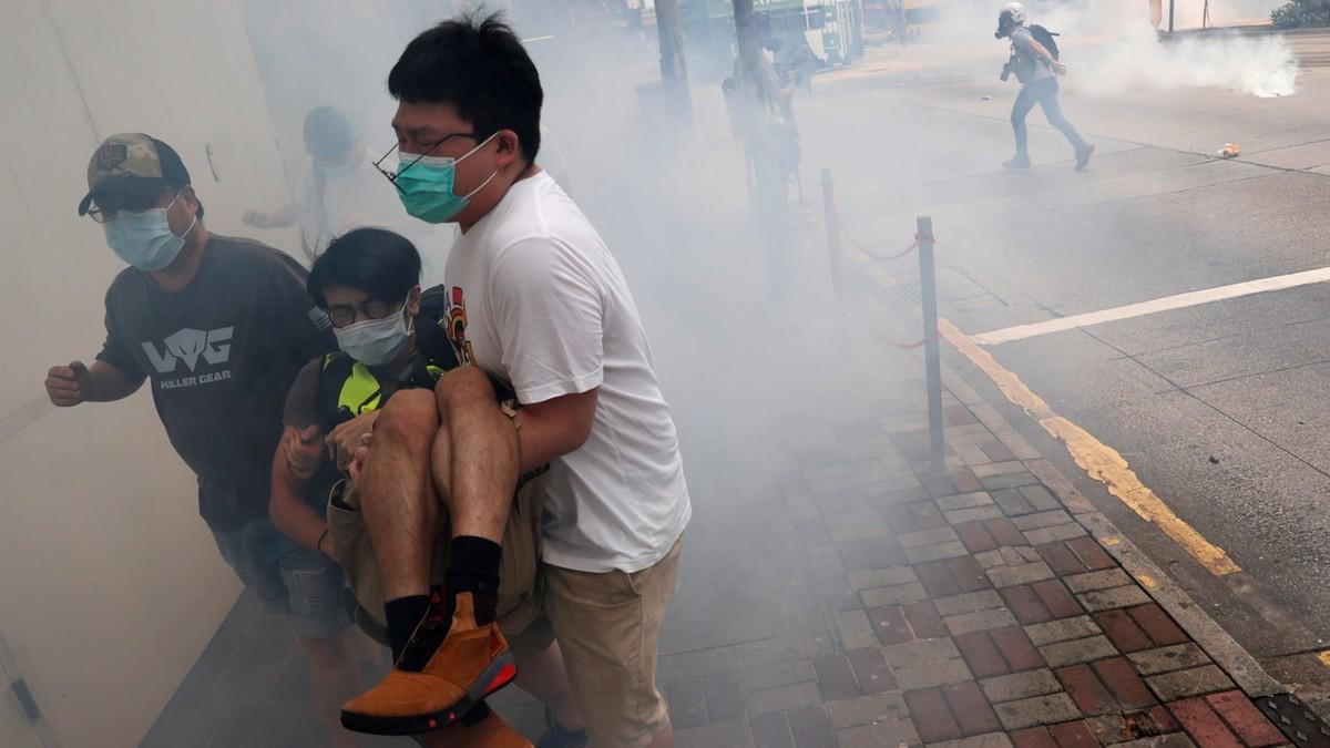 Hàng nghìn người Hồng Kông biểu tình phản đối dự luật an ninh mới của Bắc Kinh
