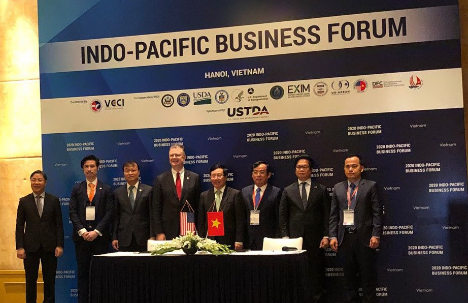 Nhà đầu tư Mỹ ký thỏa thuận 3 tỷ USD cho dự án lĩnh vực năng lượng tại Việt Nam