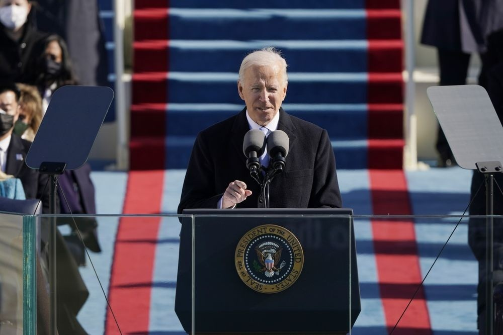 """Tổng thống thứ 46 của nước Mỹ Joe Biden: """"Cần chầm dứt cuộc chiến nội bộ nước Mỹ"""""""