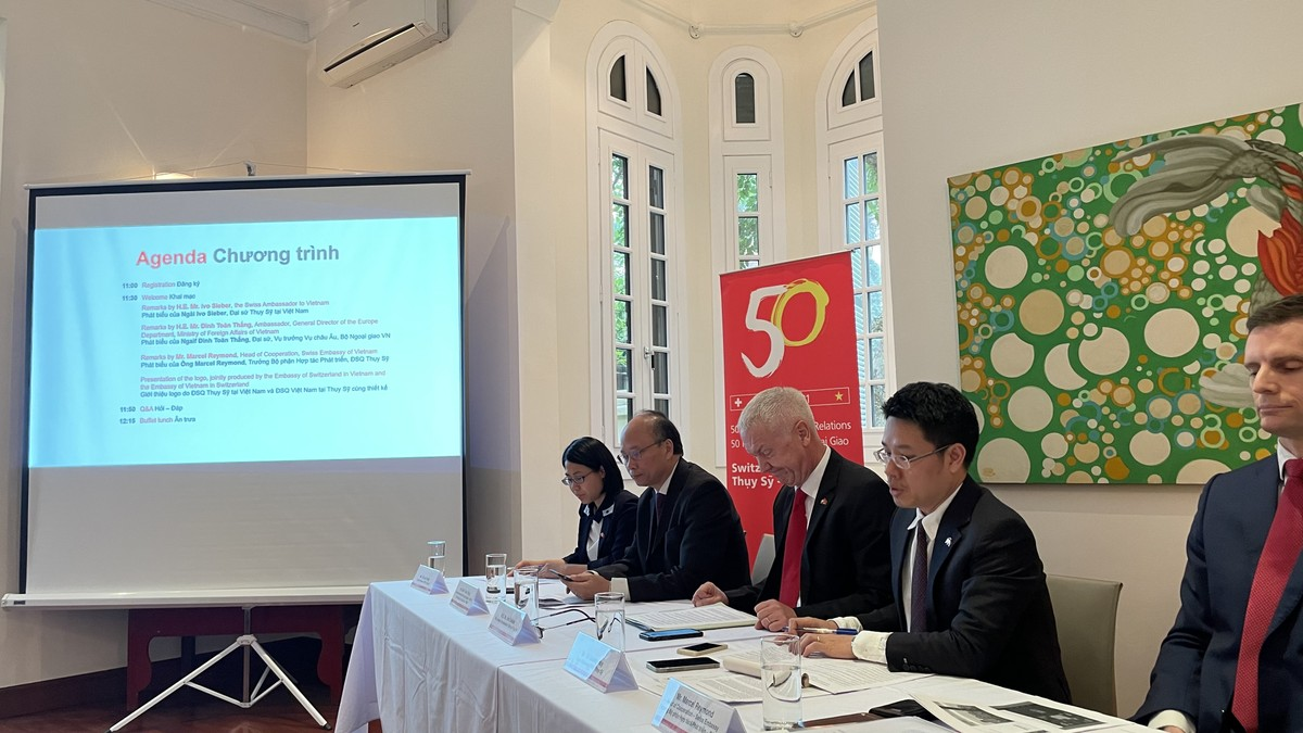 50 Years of Swiss-Vietnamese Bilateral Relations in 2021