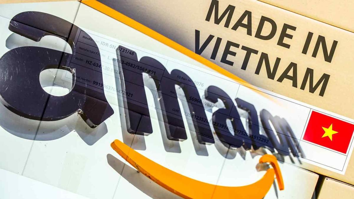 Amazon công bố số lượng nhà kinh doanh Việt Nam đạt doanh số trên 1 triệu USD tăng gấp 3 lần trong năm ngoái
