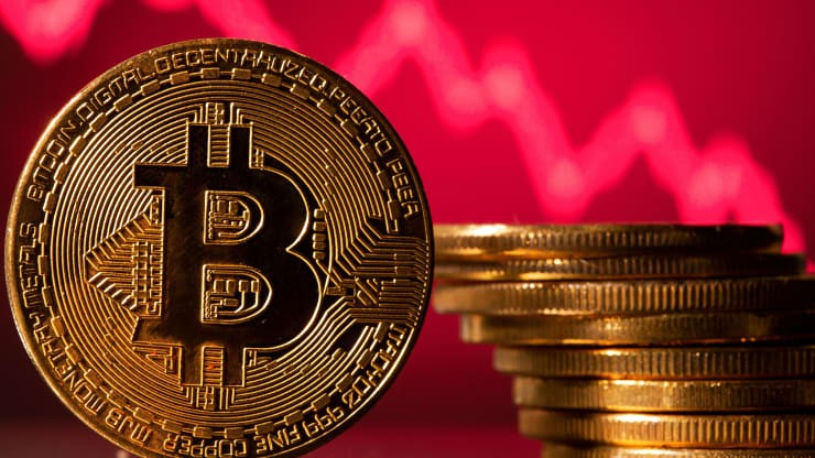 Giá bitcoin xuống dưới 30.000USD, vốn hóa thị trường tiền mã hóa sụt 90 tỷ USD