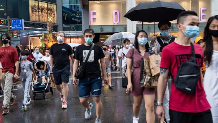 Singapore ghi nhận hơn 1.000 ca nhiễm mới COVID-19/ngày