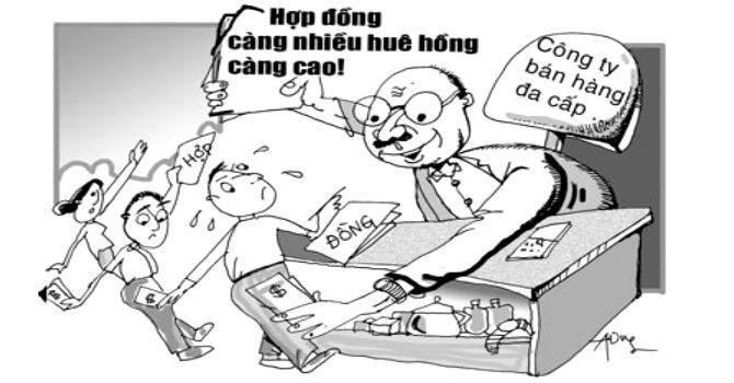 """Hà Nội tiếp tục """"siết"""" hoạt động kinh doanh đa cấp"""