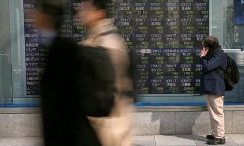 Chứng khoán châu Á lao dốc vì nguy cơ chiến tranh thương mại