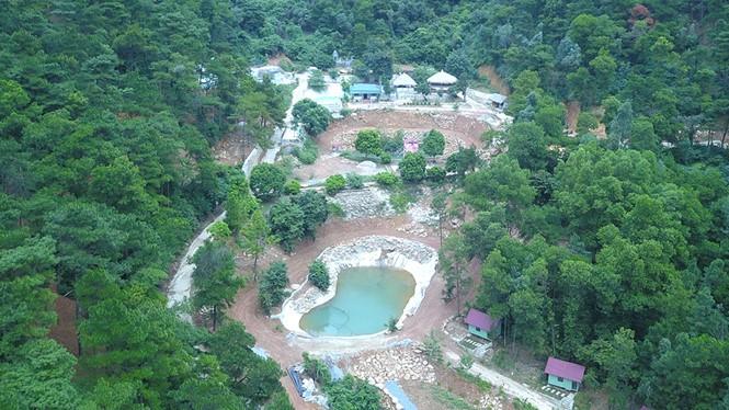 """Vén màn """"bí ẩn"""" chủ những công trình trái phép trên đất rừng ở xã Minh Phú"""