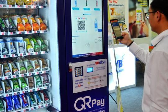 Nở rộ thanh toán bằng quét mã QR
