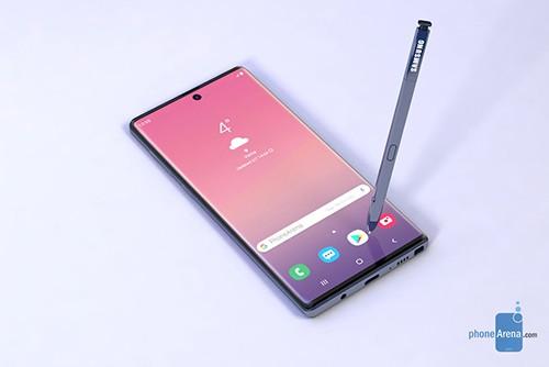 Samsung có thể đưa màn hình cong trở lại trên Galaxy Note10