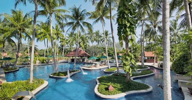 Ấn tượng với thiết kế hồ bơi tại các khu nghỉ dưỡng thương hiệu Banyan Tree