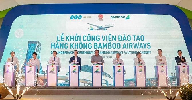 Chính thức khởi công xây dựng Viện đào tạo Hàng không Bamboo Airways