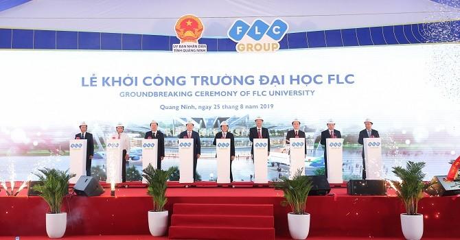 Tập đoàn FLC khởi công Đô thị Đại học quy mô hơn 700ha tại Quảng Ninh