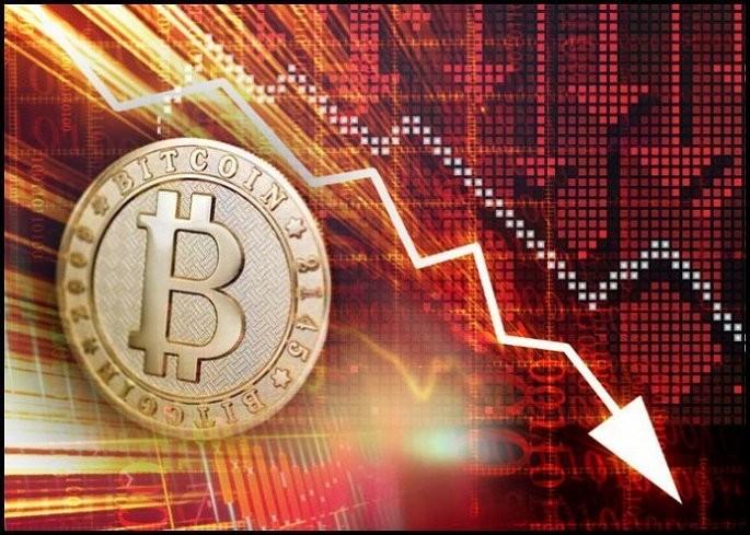 """Bitcoin tiếp tục """"sụp đổ"""""""