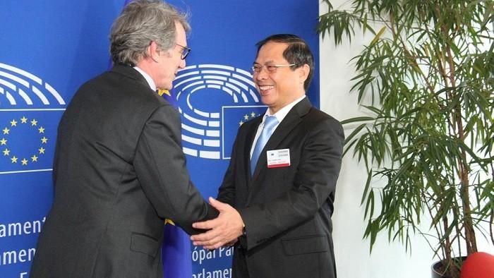 EP xem xét phê chuẩn Hiệp định EVFTA, EVIPA giữa Việt Nam - EU trong hôm nay