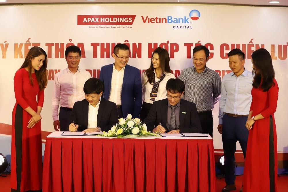 VietinBank Capital - Apax Holdings ký kết thỏa thuận hợp tác chiến lược