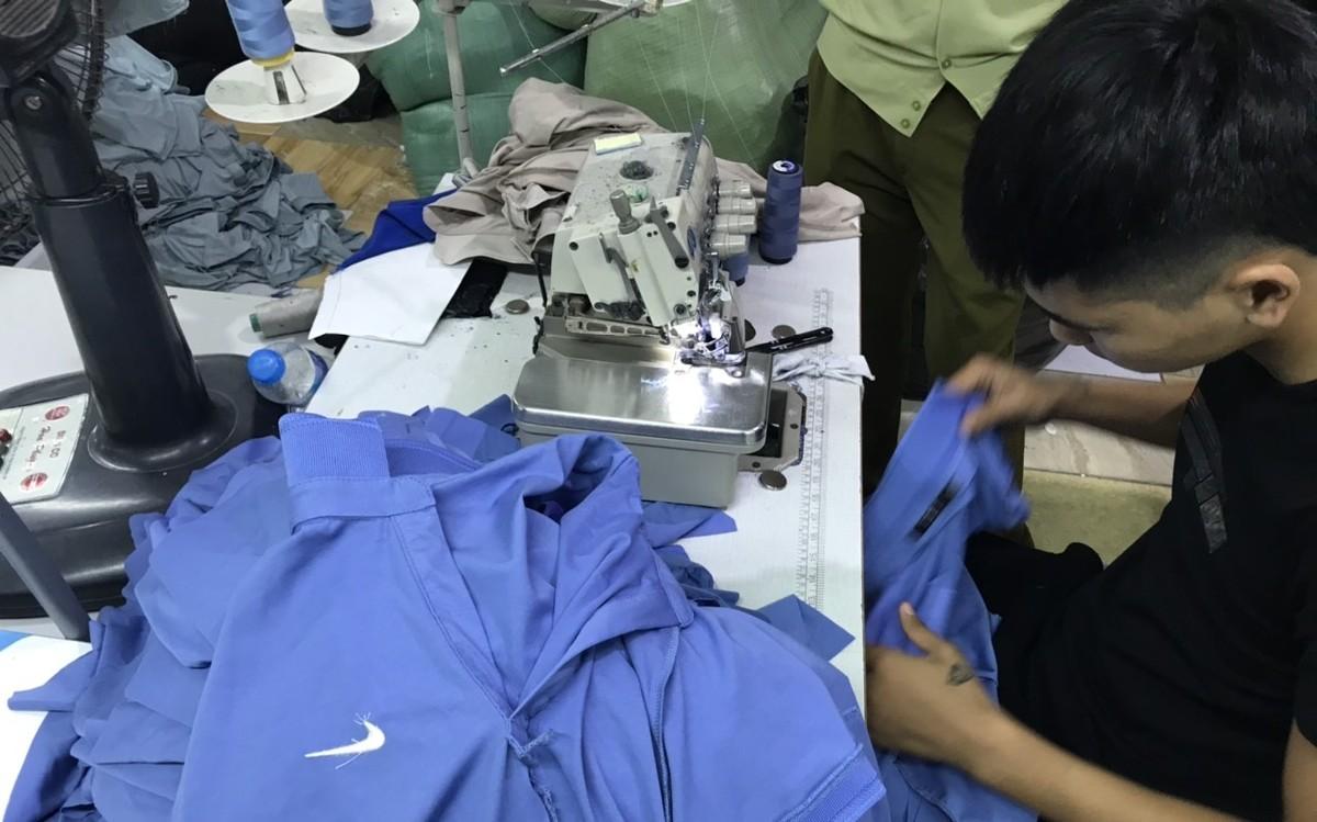Truy cứu hình sự công ty sản xuất hàng giả thương hiệu Nike, Gucci, Lacoste