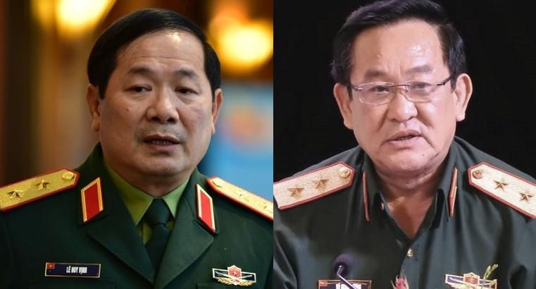 Bộ Quốc phòng có thêm hai thứ trưởng mới