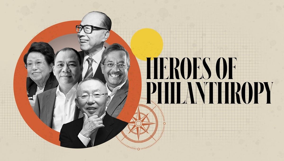 """Chủ tịch Vingroup lọt top 15 """"anh hùng từ thiện"""" của Forbes châu Á"""