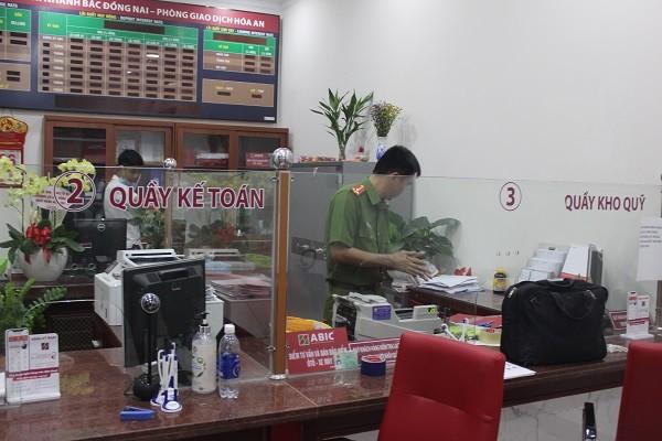 Bắt nghi phạm cướp ngân hàng Agribank tại Đồng Nai