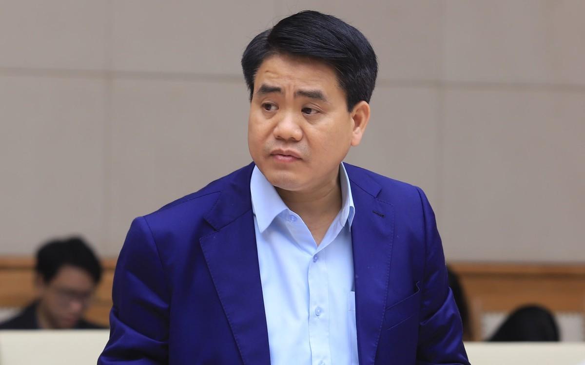 Đề nghị khai trừ đảng cựu Chủ tịch Hà Nội Nguyễn Đức Chung