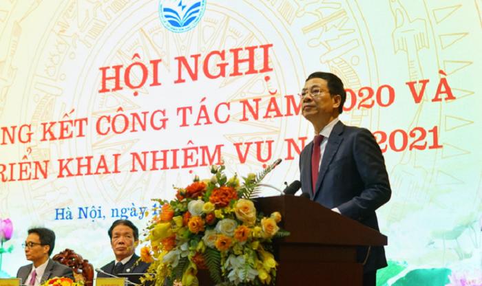 """Bộ trưởng Nguyễn Mạnh Hùng: """"Nếu công nghiệp ICT là Make in Vietnam, Việt Nam sẽ trở thành quốc gia công nghệ"""""""