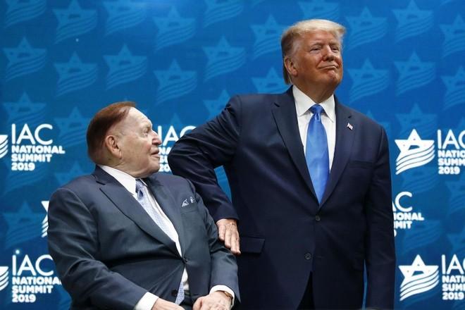 Ông trùm sòng bạc Mỹ Sheldon Adelson qua đời