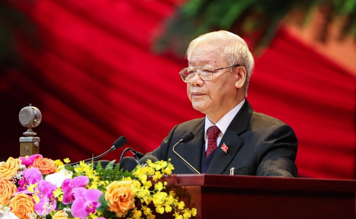 Tổng bí thư, Chủ tịch nước Nguyễn Phú Trọng: Tiếp tục đổi mới tư duy, phát triển bền vững đất nước