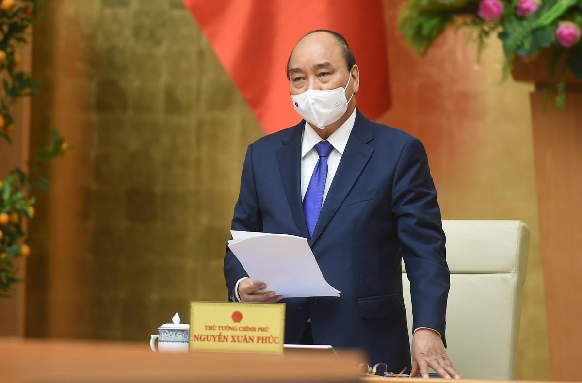 Thủ tướng: Đẩy cao một bước ngăn chặn dịch bệnh