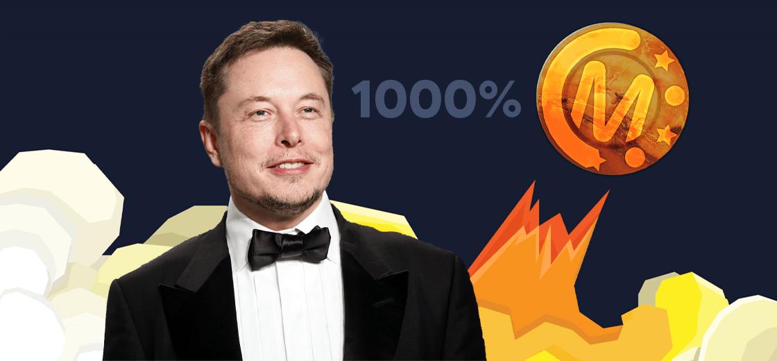 Đến lượt Marscoin tăng giá 1.000% nhờ được Elon Musk nhắc tên