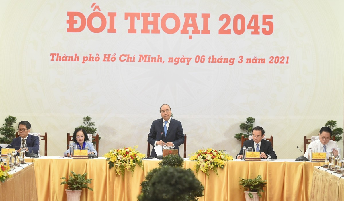 """Khởi xướng """"Đối thoại 2045"""" thường niên"""
