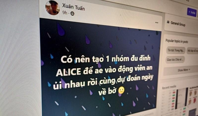 Người Việt đổ xô đu đỉnh tiền số Alice