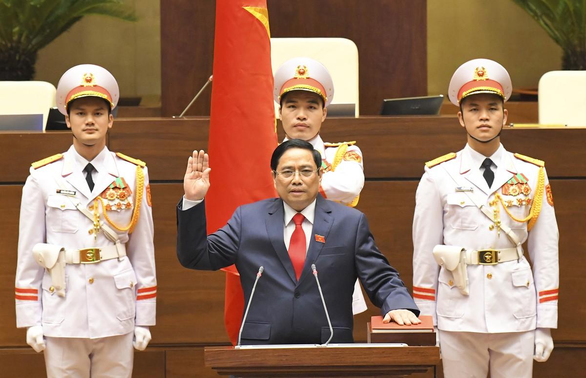 Ông Phạm Minh Chính được bầu làm tân Thủ tướng