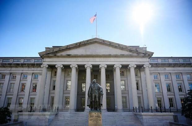 Bộ Tài chính Mỹ dự kiến vay 2.280 tỷ USD để bù đắp thâm hụt năm 2021