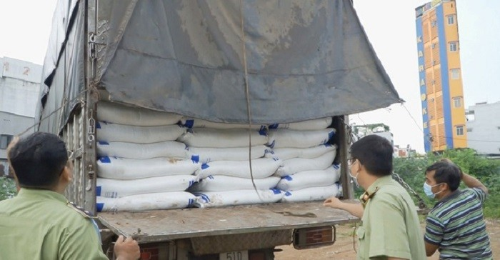 TP.HCM bắt hơn 140 tấn đường cát lậu trị giá 2 tỷ đồng