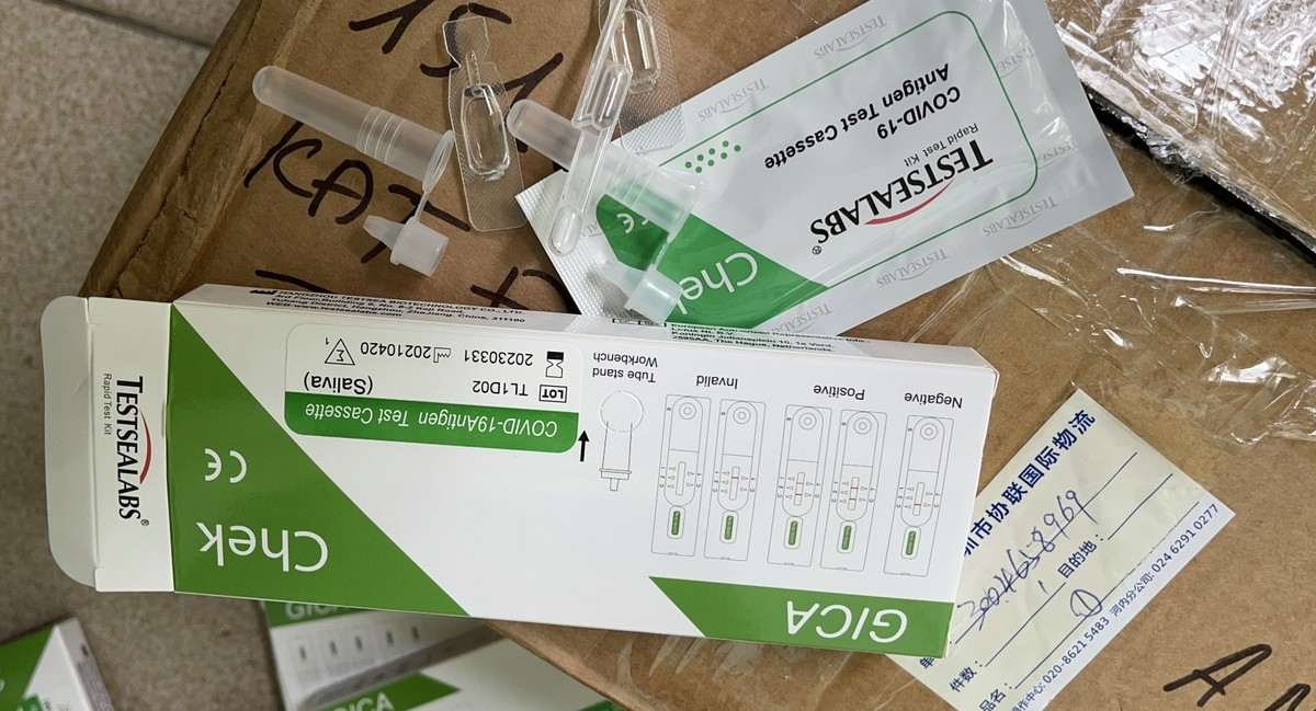 Hà Nội xử lý cơ sở đầu tiên kinh doanh kit test nhanh Covid-19