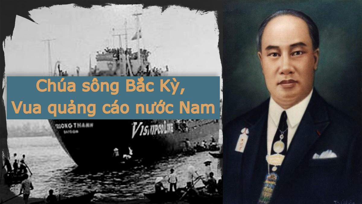 Chúa sông Bắc Kỳ, Vua quảng cáo nước Nam