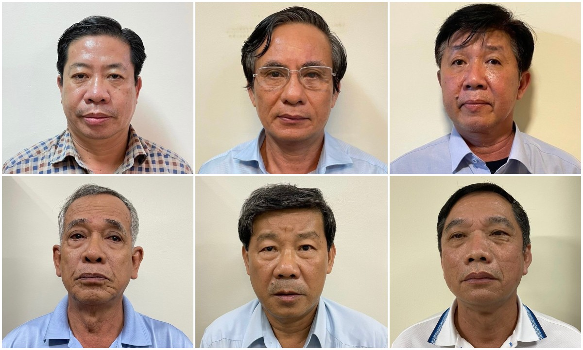 Khởi tố, bắt tạm giam 6 lãnh đạo, nguyên lãnh đạo tỉnh Bình Dương