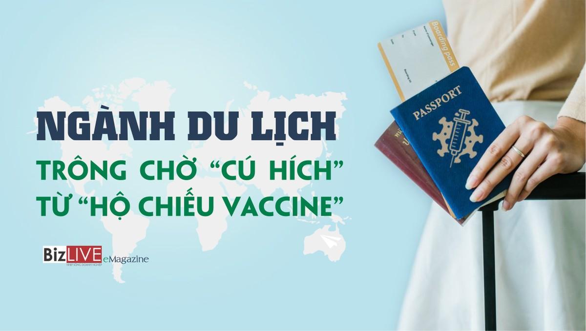 """Ngành du lịch trông chờ """"cú hích"""" từ """"hộ chiếu vaccine"""""""