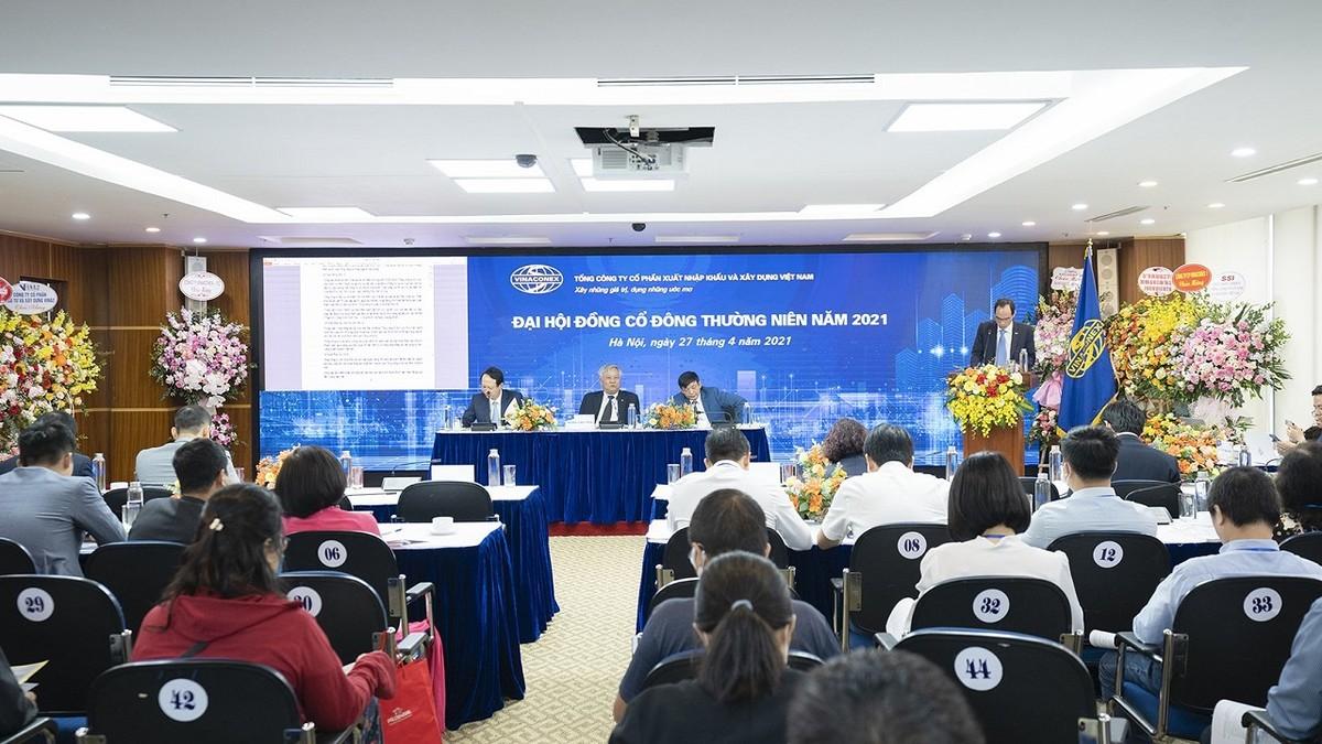 ĐHĐCĐ Vinaconex (VCG): Đặt mục tiêu doanh thu tăng 41%, đẩy mạnh lĩnh vực đầu tư bất động sản
