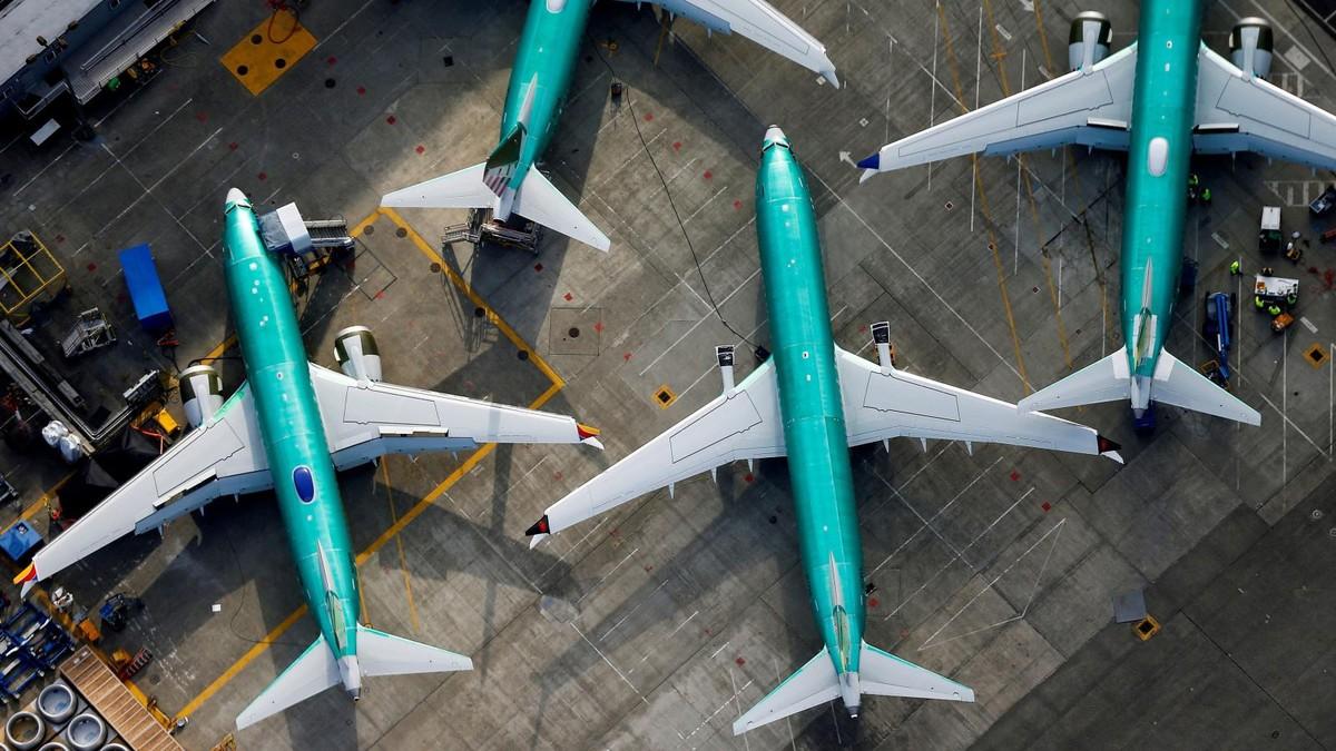 """Boeing tiếp tục sản xuất dòng máy bay """"tai tiếng"""" 737 Max"""