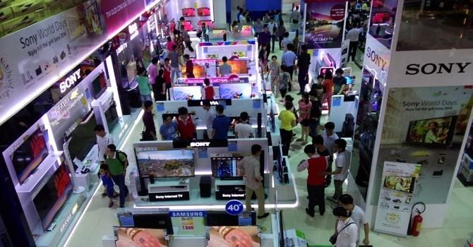 Chuỗi bán lẻ điện thoại - điện máy nào đang khai thác mặt bằng tốt nhất?