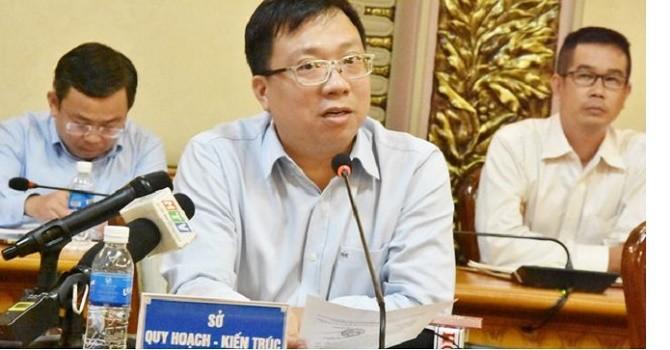 Đề xuất phê bình lãnh đạo Sở Quy hoạch - Kiến trúc TP.HCM