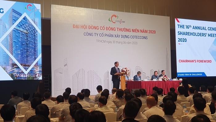 """ĐHĐCĐ Coteccons: Ông Nguyễn Bá Dương cam kết """"làm mọi cách"""" để cải thiện thị giá CTD, mong muốn sáp nhập vào Ricons"""