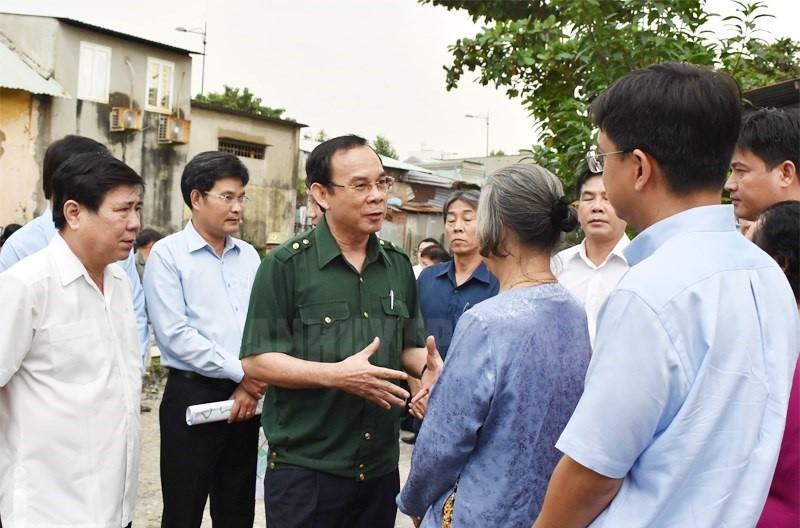 Tân Bí thư TP.HCM Nguyễn Văn Nên: Mưa bão đang diễn biến phức tạp, không tập trung lo trước thì sự việc đến sẽ trở tay không kịp