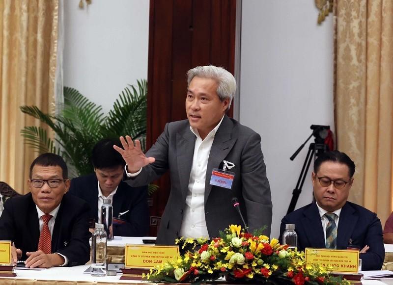 """Ông Don Lam: Cần nhanh chóng tận dụng lợi thế """"bến đỗ an toàn"""""""