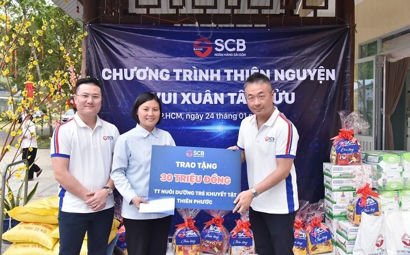 SCB tích cực tham gia các hoạt động nhân đạo, từ thiện năm 2020