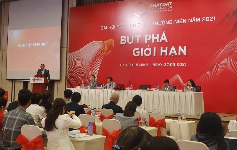 ĐHĐCĐ Phát Đạt: Chủ tịch PDR cam kết lợi nhuận 2021 cán mốc 100 triệu USD