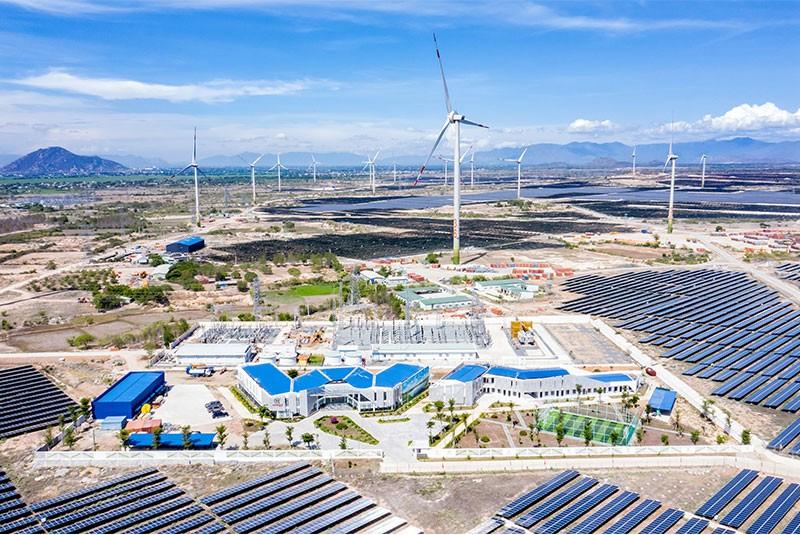 Trung Nam Group khánh thành dự án điện gió lớn nhất Việt Nam