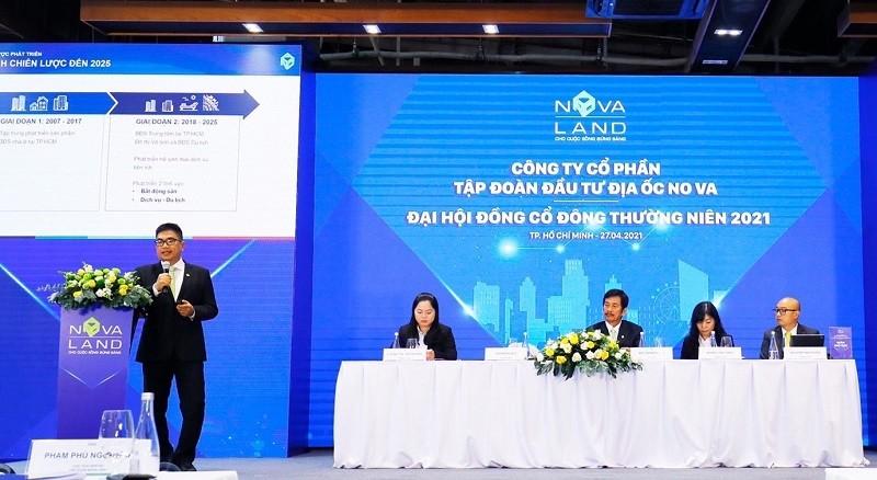 ĐHĐCĐ Novaland: Mục tiêu quỹ đất thêm 10.000ha, tiết lộ khoản lợi nhuận 2 tỷ USD